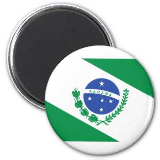 Flag of Paraná Magnet