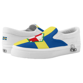 Flag of Pembrokeshire Slip On Shoes