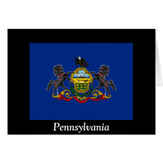 Flag of Pennsylvania Greeting Cards