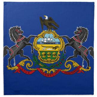 Flag OF Pennsylvania Napkin