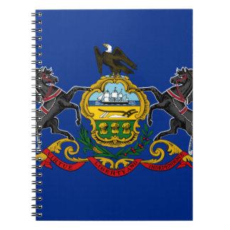 Flag OF Pennsylvania Notebooks