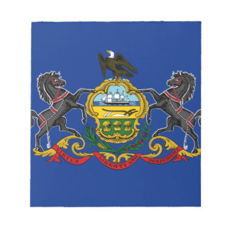 Flag OF Pennsylvania Notepad