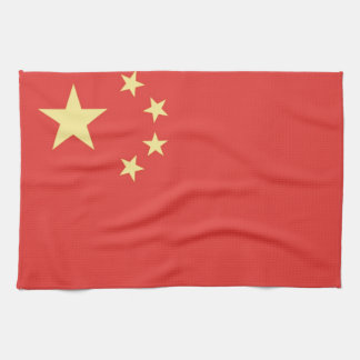 Flag of Peoples Republic of China Tea Towel