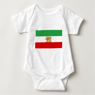 Flag of Persia / Iran (1964-1980) Baby Bodysuit