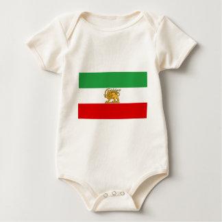 Flag of Persia / Iran (1964-1980) Baby Bodysuit