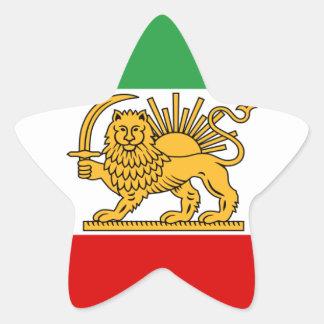 Flag of Persia / Iran (1964-1980) Star Sticker