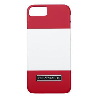 Flag of Peru iPhone 7 Case