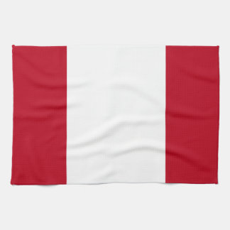 Flag of Peru Kitchen Towels