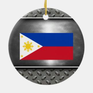 Flag of Philippines Ceramic Ornament