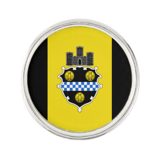 Flag of Pittsburgh, Pennsylvania Lapel Pin