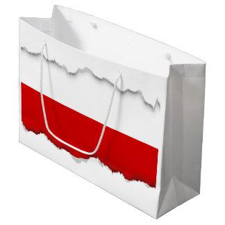 Flag of Poland Large Gift Bag