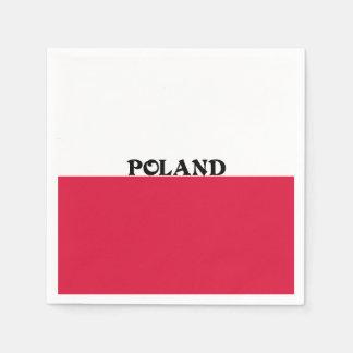Flag of Poland Paper Napkins