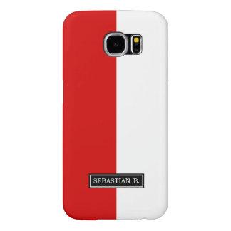 Flag of Poland Samsung Galaxy S6 Cases