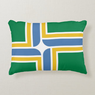 Flag of Portland, Oregon Decorative Cushion