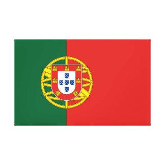 Flag of Portugal Canvas Print