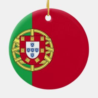Flag of Portugal Ceramic Ornament