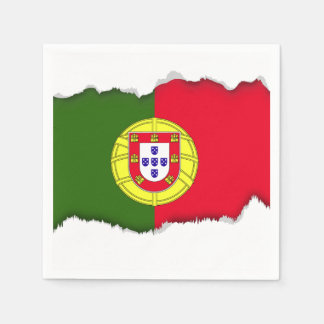 Flag of Portugal Disposable Napkin