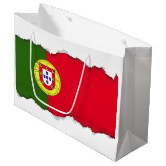 Flag of Portugal Large Gift Bag