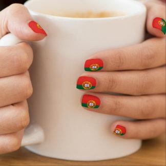 Flag of Portugal Minx Nail Art