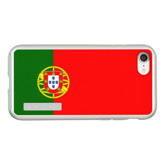 Flag of Portugal Silver iPhone Case