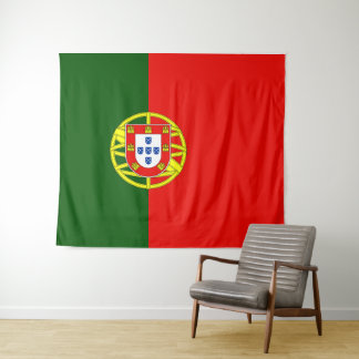 Flag of Portugal Tapestry