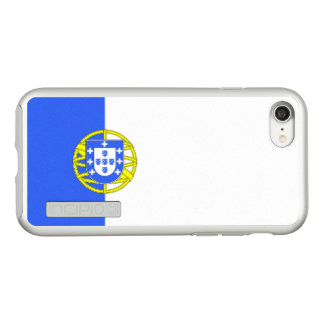 Flag of Portugalicia Silver iPhone Case