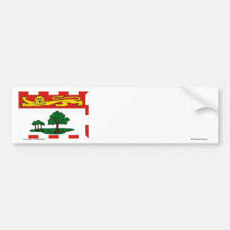 Flag of Prince Edward Island, Canada Bumper Sticker