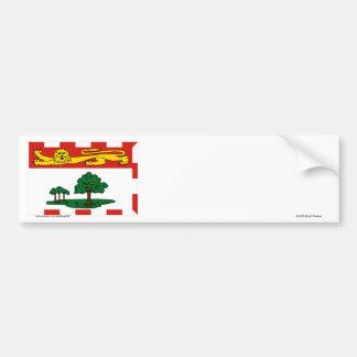 Flag of Prince Edward Island, Canada Bumper Sticker