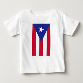 Flag of Puerto Rico - Bandera de Puerto Rico Baby T-Shirt