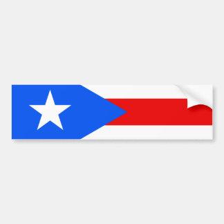Flag of Puerto Rico Bumper Sticker