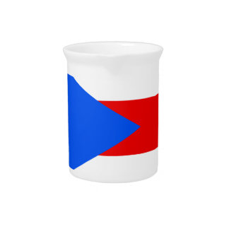 Flag_of_Puerto_Rico Drink Pitchers