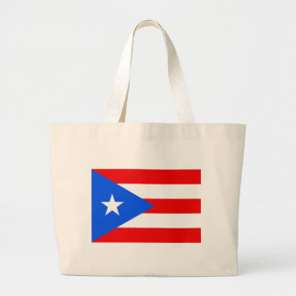 Flag_of_Puerto_Rico Large Tote Bag