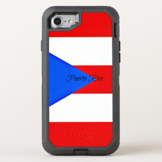 Flag of Puerto Rico OtterBox Defender iPhone 8/7 Case