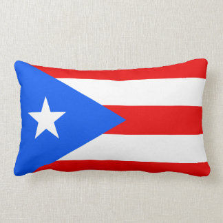 Flag of Puerto Rico Pillow