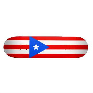 Flag of Puerto Rico Skateboard Deck