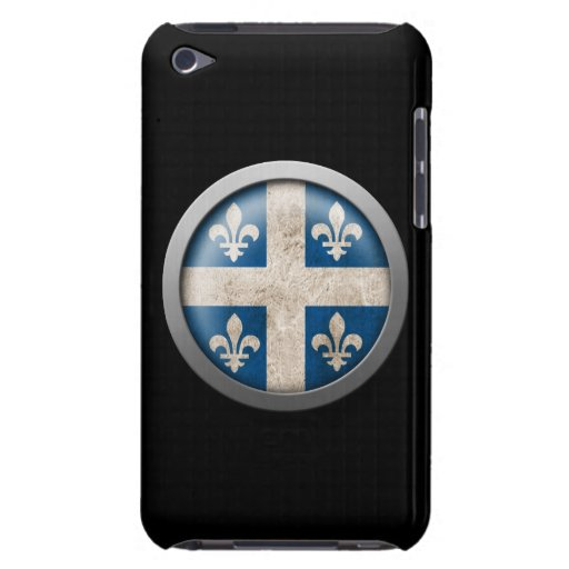 Flag of Quebec Disc iPod Touch Case-Mate Case