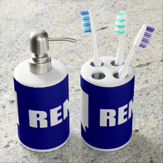 Flag of Reno, Nevada Bathroom Set