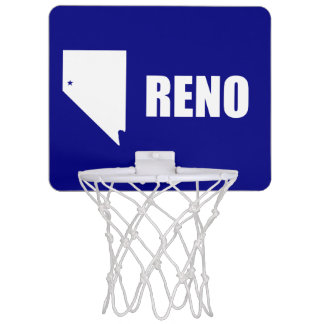 Flag of Reno, Nevada Mini Basketball Hoop