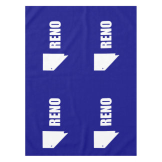 Flag of Reno, Nevada Tablecloth