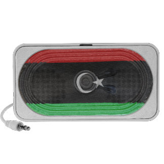 Flag Of Republic of Libya Loudspeaker FX On Doodle Mini Speakers