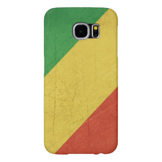 Flag of Republic of the Congo Samsung Galaxy S6 Cases