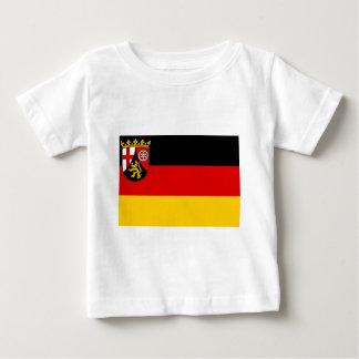 Flag_of_Rhineland-Palatinate Baby T-Shirt