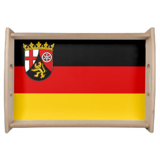 Flag of Rhineland-Palatinate Serving Tray