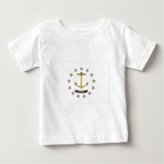 Flag Of Rhode Island Baby T-Shirt