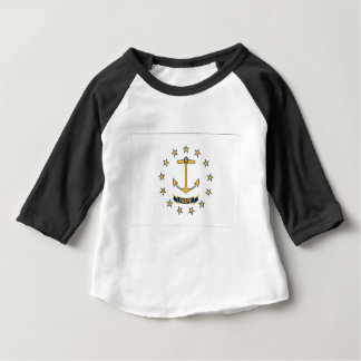 Flag Of Rhode Island Baby T-Shirt