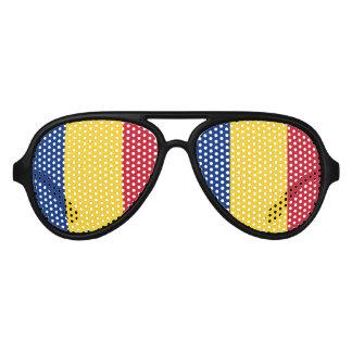 Flag of Romania Aviator Sunglasses