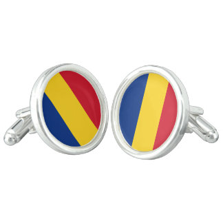 Flag of Romania Cufflinks