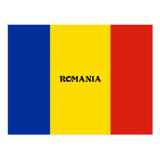 Flag of Romania custom design Postcard