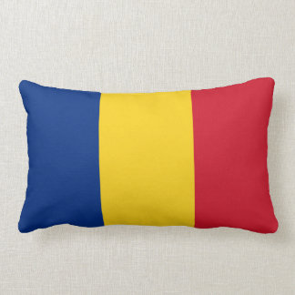 Flag of Romania Lumbar Cushion