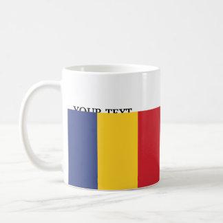 Flag of Romania Basic White Mug